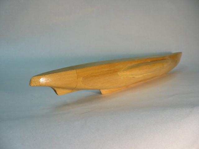 Uボート1/100バルサモデル(未完成)