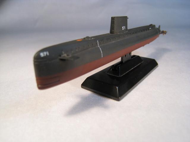 世界初の原子力潜水艦ノーチラス